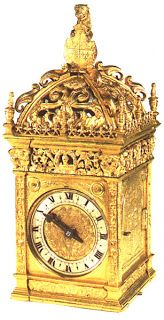 clock given to Anne Boleyn by Henry VIII as a wedding gift in 1533