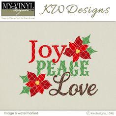 DIGITAL DOWNLOAD ... Christmas Vector in AI, EPS, GSD, & SVG formats @ My Vinyl Designer #myvinyldesigner #kwdesigns