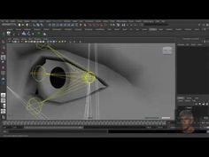 Maya 3D - Facial Rig - Part 18. Advanced Eye Rig - YouTube