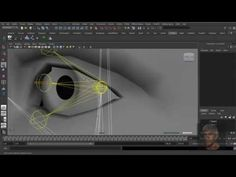 Maya 3D - Facial Rig - Part 18. Advanced Eye Rig - YouTube