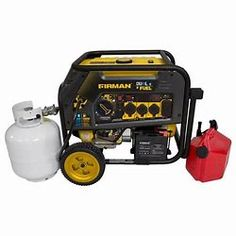 Watt Electric Start Gas or Propane Dual Fuel Portable Generator CARB and cETL Certified Electric Start Generator, Dual Fuel Generator, Portable Generator, Solar Energy, Solar Power, Renewable Energy, Emergency Power, Solar Panels, Outdoor Power Equipment