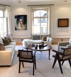Living Room Interior, Living Room Decor, Living Spaces, Apartment Chic, Apartment Living, Restoration House, Beautiful Home Designs, Decor Interior Design, Decoration