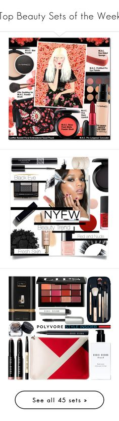 """Top Beauty Sets of the Week"" by polyvore ❤ liked on Polyvore featuring beauty, MAC Cosmetics, Loeffler Randall, Becca Stadtlander, contestentry, PVStyleInsiderContest, makeupbagstaples, Christian Dior, Guerlain and Urban Decay"