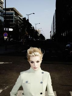 Luxe: Jessica Stam for Numero Russia November 2014