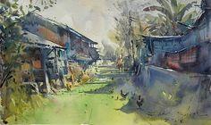 direk kingnok watercolor artist - Cerca amb Google