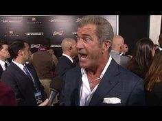 The Expendables 3: Mel Gibson Premiere Interview --  -- http://www.movieweb.com/movie/the-expendables-3/mel-gibson-premiere-interview