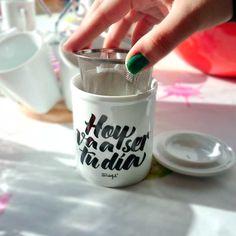 #Goodmorning!! Hoy va a ser nuestro día ;) Encuentra esta #taza de té de #mrwonderful en www.differentshop.es/tazas-y-vasos/71-taza-de-te-hoy-va-a-ser-tu-dia.html