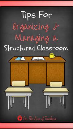 Organizing and manag