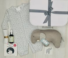 Beautiful baby hamper with only the best brands. Baby Hamper, Baby Baskets, Unisex Gifts, Baby Oil, Baby Elephant, Best Brand, Beautiful Babies, Cute Babies