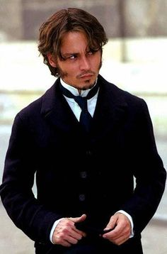Johnny Depp rocked the #Victorian look in the movie From Hell, too.