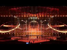 Eurovision Stage (in action) 2014 #joinus