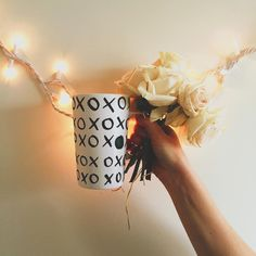 """A kiss and a hug, inspires a mug. #MugMonday #DotCollection #xoxo  Link in profile to buy """