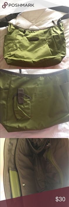 BNWOT - Keen Adele Messenger/Laptop Bag Brand new and never used! Has so many features and can be used to a variety of things. It is a Nylon material and the size is roughly 17 x 11.5 x 5.5 inches and it can hold a laptop up to 13 inches. Keen Bags