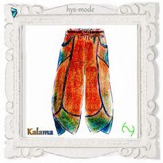 Schnittmuster Ballonhose KALAMA Lagenlook hys-mode von bien-art auf DaWanda.com