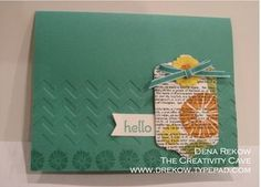 The Creativity Cave, Stampin Up, Dena Rekow, Undefined, Another Thank You Photopolymer