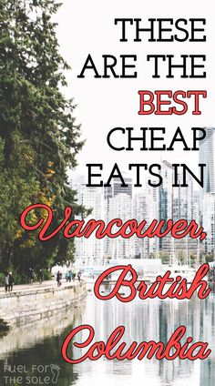 The best and top rated budget restaurants in Vancouver, British Columbia, Canada - Our travel guide reveals where to eat for cheap eats on your vacation. Vancouver Restaurants, Vancouver Food, Vancouver British Columbia, Travel Tours, Budget Travel, Cheap Travel, Travel Hacks, Travel Guide, Travel Destinations
