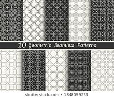 Similar Images, Stock Photos & Vectors of Triangle geometric vector pattern,pattern fills, web page, background, surface and textures - 708272218 | Shutterstock Geometric Tattoo Pattern, Geometric Patterns, Banners, Line Background, Black And White Lines, Vector Pattern, Ten, Wallpaper, Printing On Fabric