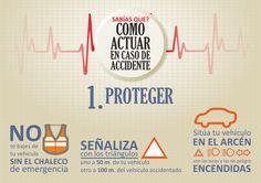 ¿Sabes cómo actuar en caso de accidente? PAS: Proteger, Alertar, Socorrer