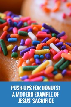 Donuts are a great way to show Jesus' sacrifice for us. Come see how! via @projectym