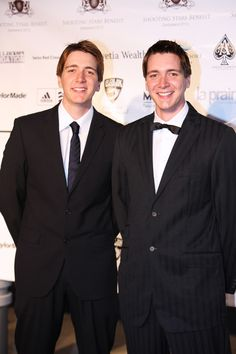 James and Oliver Phelps. aka Fred and George Weasley