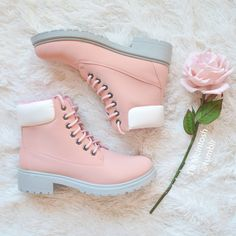 ♡ more PINK posts like this here ♡ My favorite pink hiking boots