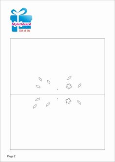 Tree 3D Pop UP Card/ Kirigami Pattern 1