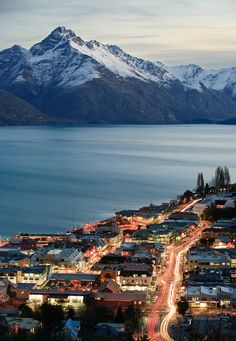 Queenstown, New Zealand  Ohh Memories..this country & Australia are the most beautiful places I've been too. Cnt wait to tke my kids