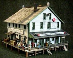 coal mining town store