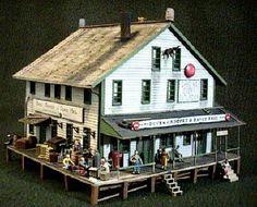 Railroad Building Plans   Model Structure Showcase - Company Store