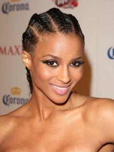 Ciaras Cornrow Braids Hairstyle , check out http://www.hairbraidingnetwork.com/photo