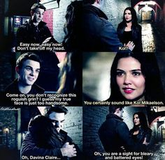 I was so happy when Davina brought Kol back in vampire form! :)