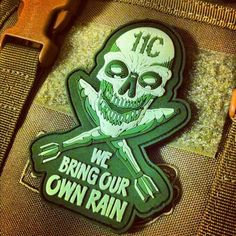 11C PVC Patch  We are our brother's keeper. Hang it..
