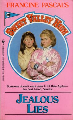 Jealous Lies  (Sweet Valley High #30): I always wanted that pink jacket.