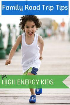 Road Trip Tips for Families With High Energy Kids #traveltips #roadtrip #familytravel