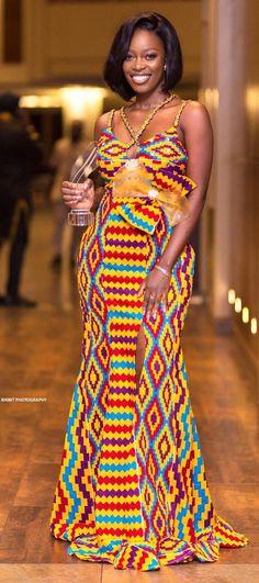 African Print Dress Designs, African Print Dresses, African Print Fashion, African Fashion Dresses, African Dress, African Attire, African Wear, African Women, Kente Dress
