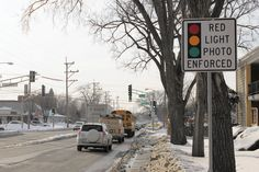 Red-light enforcement cameras aren't exactly a hit with drivers — or, apparently, a group of Park Ridge business owners and employees.