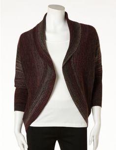 Mix Knit Circle Sweater