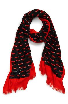 kate spade new york 'on the sly' scarf available at #Nordstrom