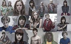 """La jeunesse actuelle a-t-elle envie de devenir adulte ? Personnages de la série """"Skins"""" (source : http://www.ohmymag.com/skins/wallpaper)"""