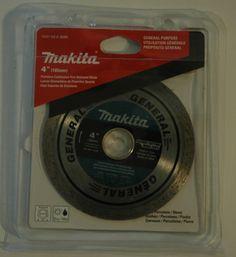 "Makita 4"" Diamond Saw Blade A-95065"