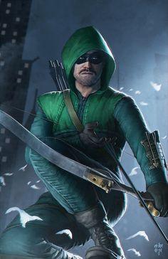 Arrow by erlanarya on DeviantArt Stephen Amell Arrow, Arrow Oliver, Green Arrow, Cyberpunk, Arrow Comic, Hood Wallpapers, Arrow Tv Series, Arrow Serie, Superhero Tv Shows