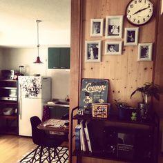 ayapさんの、noce,ニトリ,棚,フランフラン,男前,観葉植物,DIY,のお部屋写真