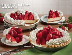 Strawberry Pie Strawberry Cheesecake Pie.