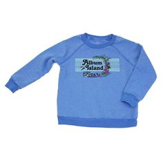 Album Island Sweatshirt- Blue