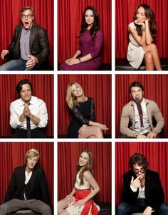 Revenge cast!!! 2 words for the boyz... hot danmmm