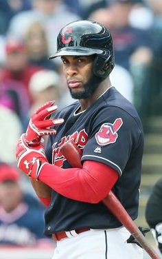 Cleveland Indians Yandy Diaz, during the game against the Chicago White Sox on Opening Day at Progressive Field, on April 11, 2017.  (Chuck Crow/The Plain Dealer)