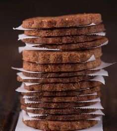 Two Ingredient Cookies. Two Ingredient Cookies. Simple delicious and free from gluten grains dairy egg nuts and refined sugar. Sweet Recipes, Whole Food Recipes, Cookie Recipes, Dessert Recipes, Desserts, Two Ingredient Cookies, Good Food, Yummy Food, True Food