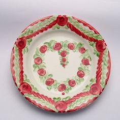 vanda Plates, Tableware, Design, Red, Green, Tablewares, Licence Plates, Dishes, Dinnerware