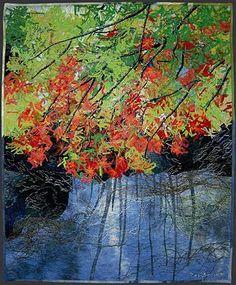 Noriko Endo art quilts.  Interesting!