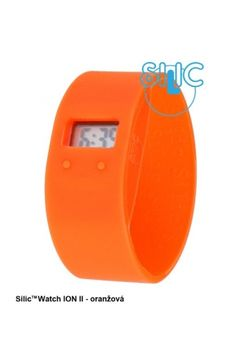 Silic Watch ION II - oranžová Cooking Timer, Watches, Clocks, Clock